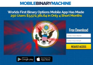Mobile Binary Machin web site