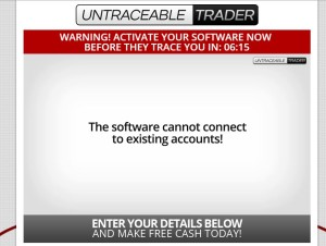 Untraceable Trader web