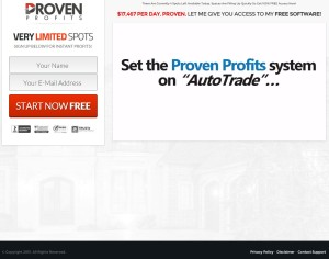 Proven Profits web site