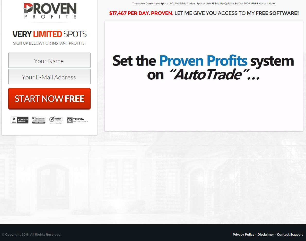 Proven profits binary options
