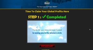 Global Profits web site
