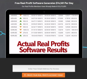 Real Profits web site