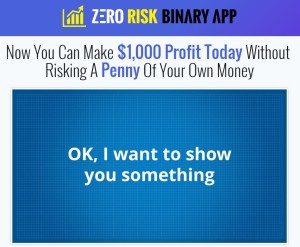 Zero Risk Binary App