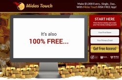 Midas Touch web site