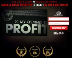 Secret millionaires club binary options