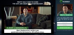 Safe Income Inc. and Albert J. Henderson