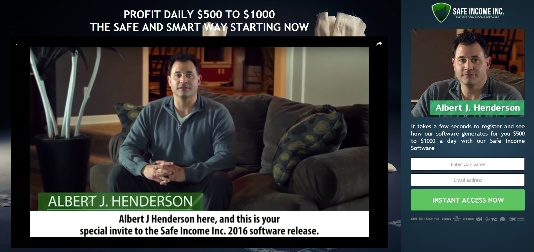 Safe options trading income