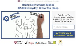 Sleeping Money Machine web site