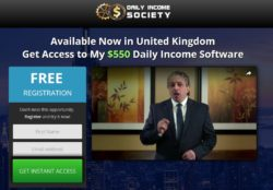 Daily Income Society web site