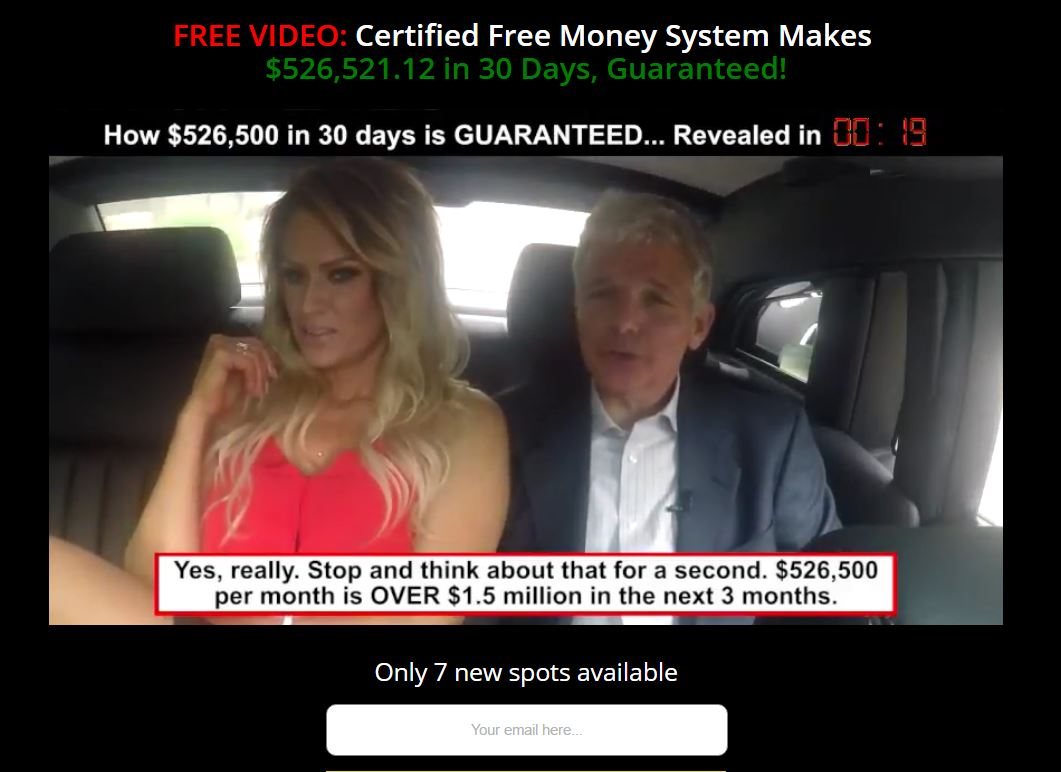 Guaranteed binary options system