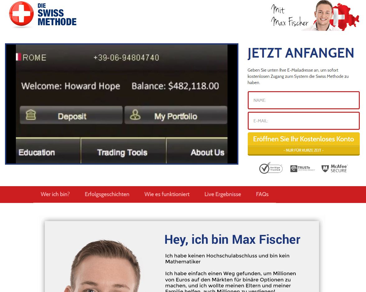 Swiss forex broker