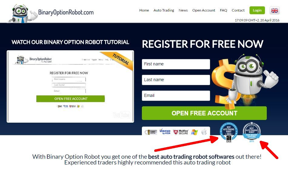 Best free binary options robots