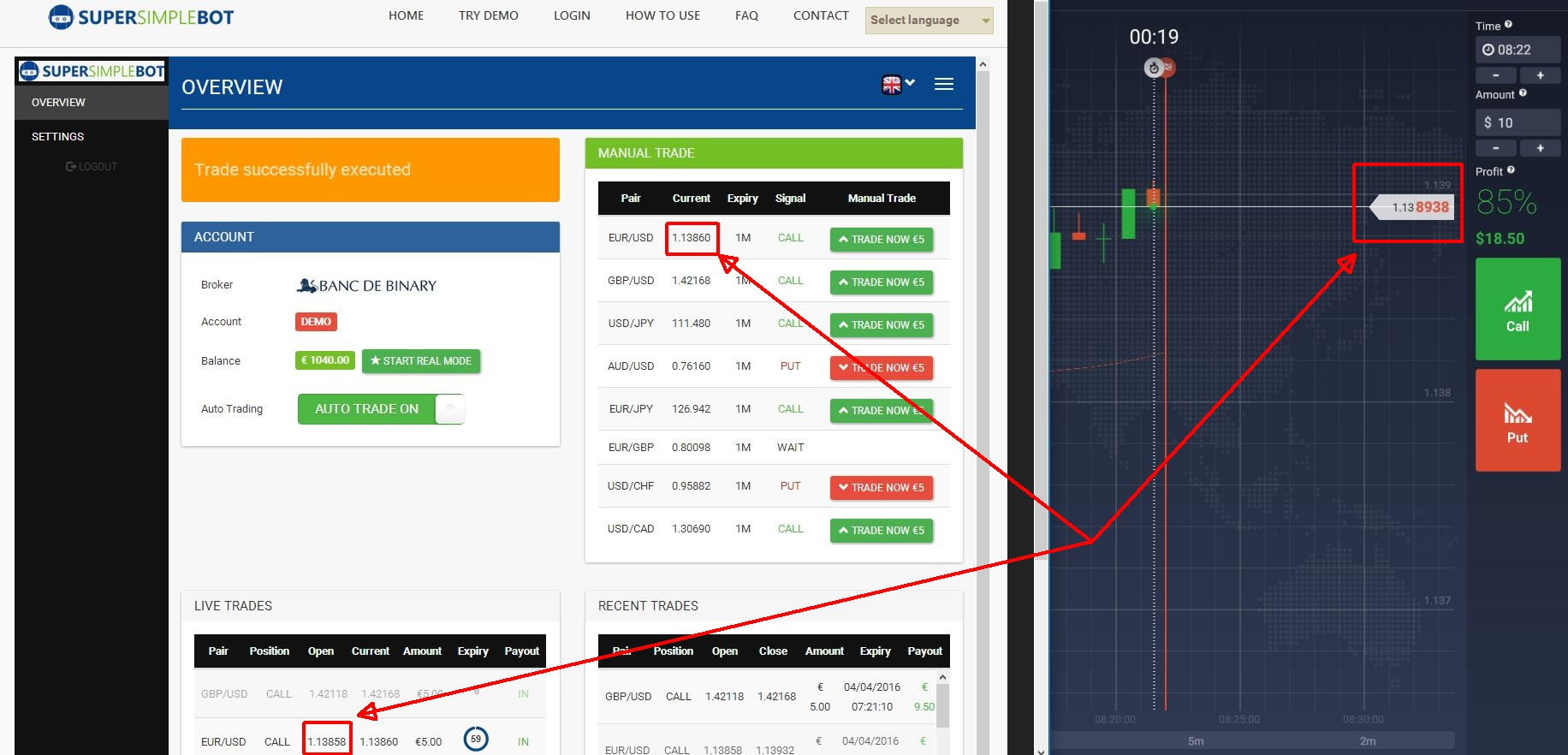 binary options iq option combo spread offense