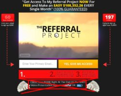 The Referral Project web site