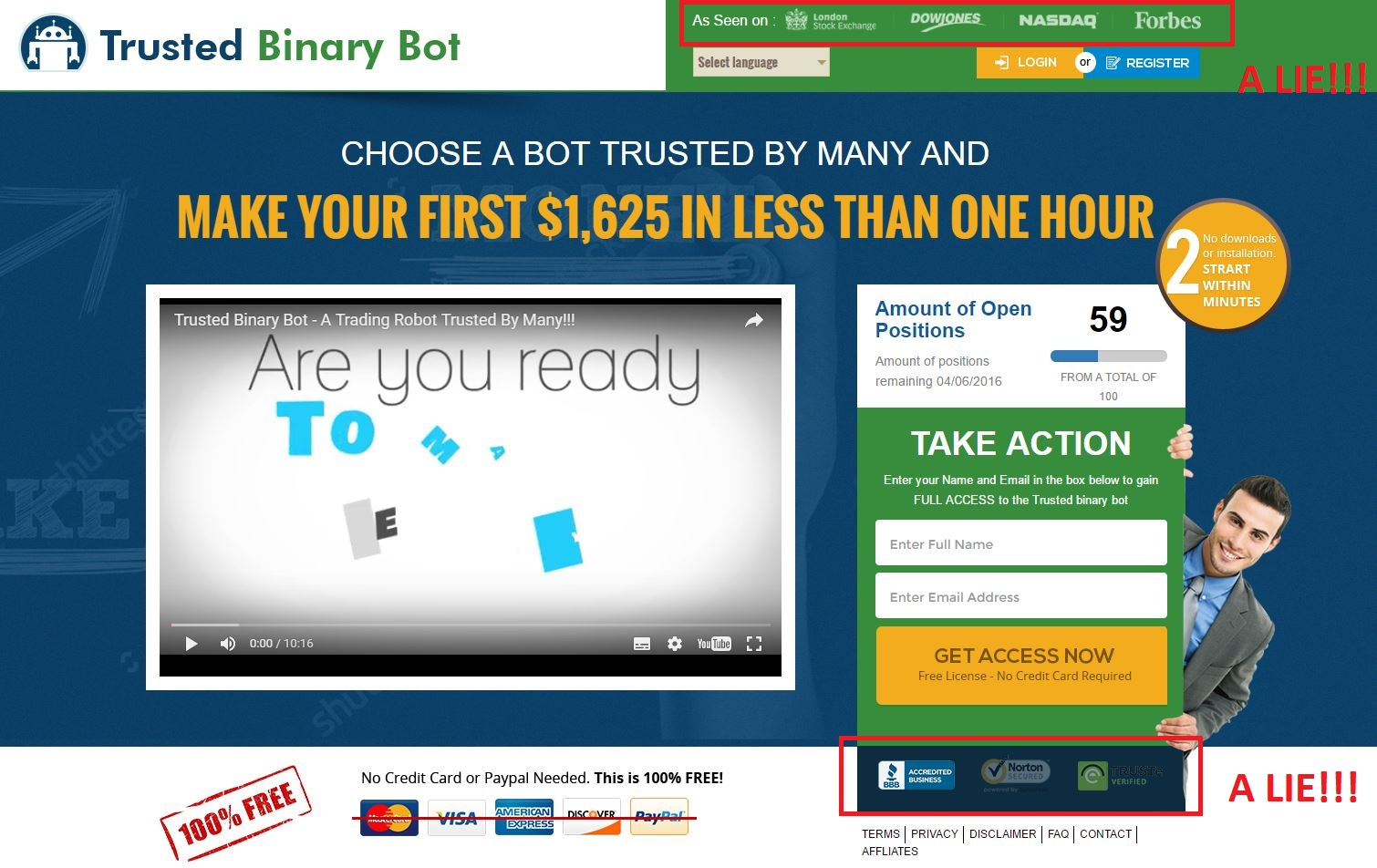 binary options robot on youtube