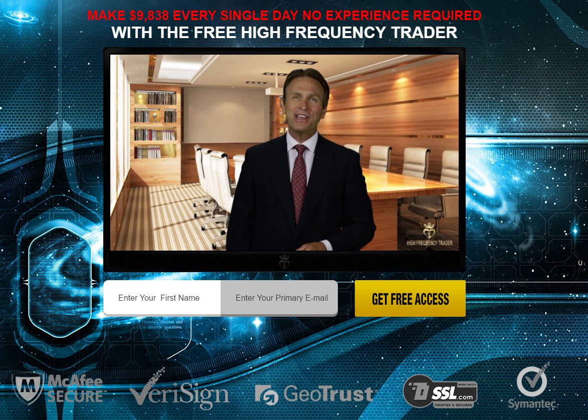High frequency trading binary options