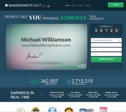 Make Money Robot website