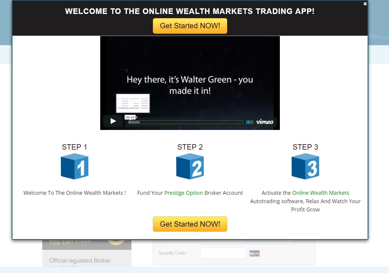 Enfinium binary options