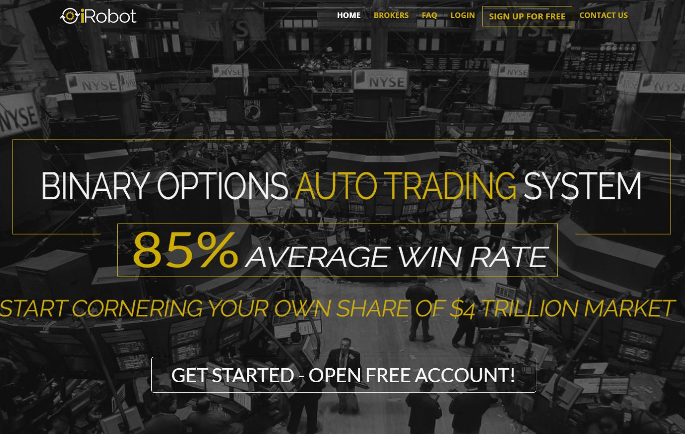 Legit binary options brokers