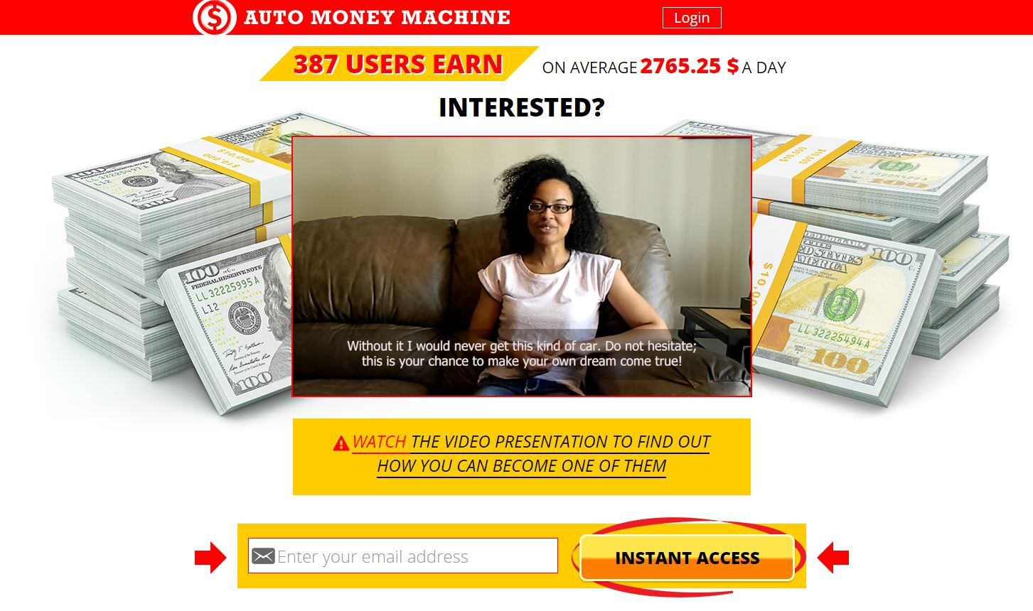 Binary options mass money machine