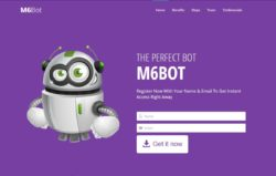 M6BOT website