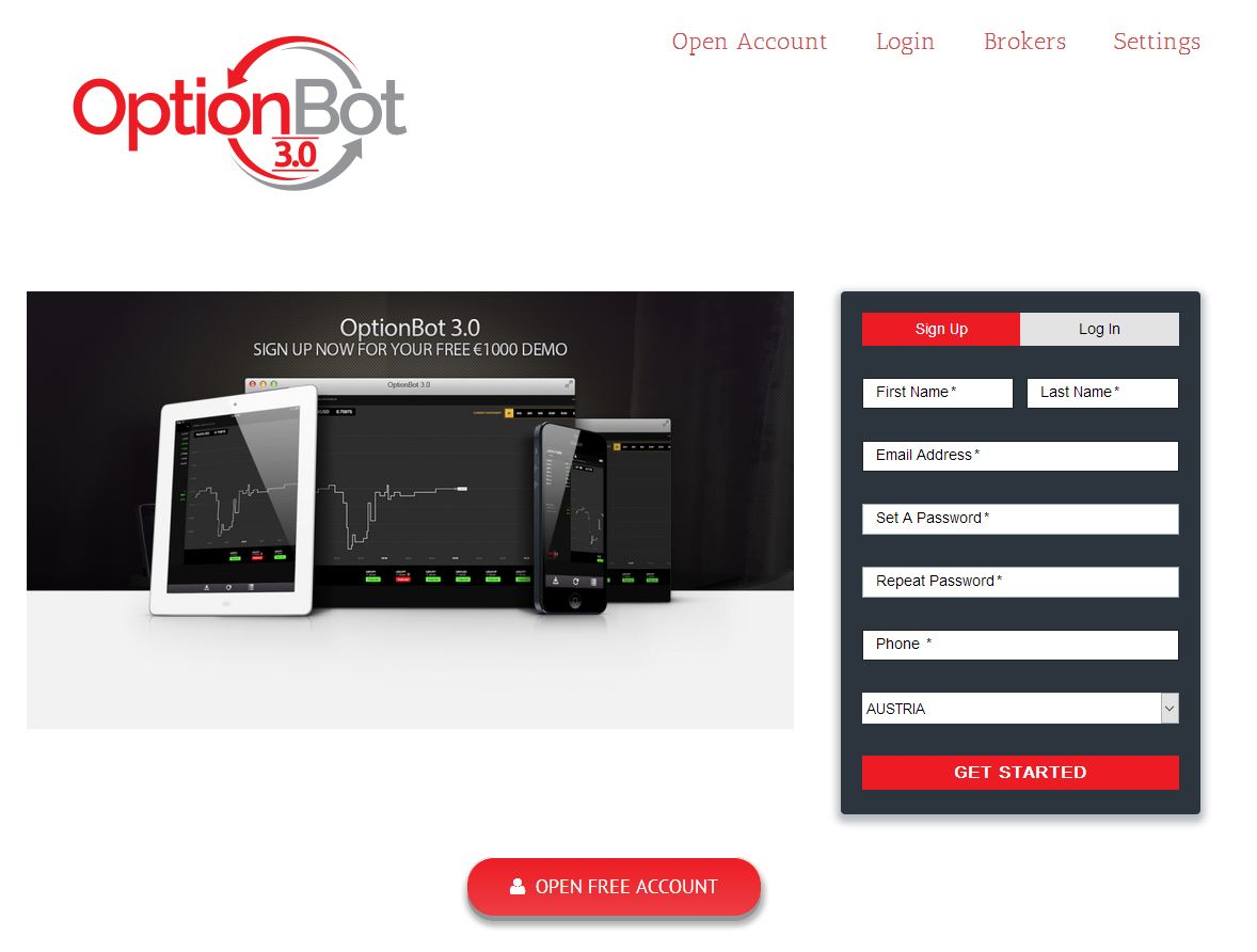 Binary option fraud