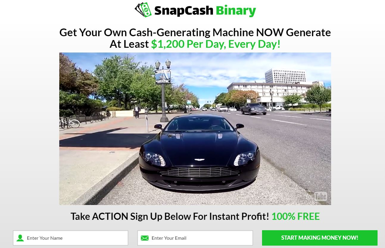 Binary options quick cash system