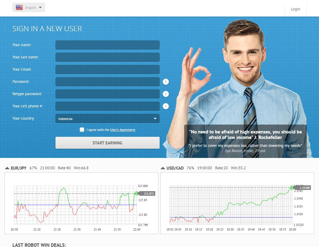 Best binary options site 2016