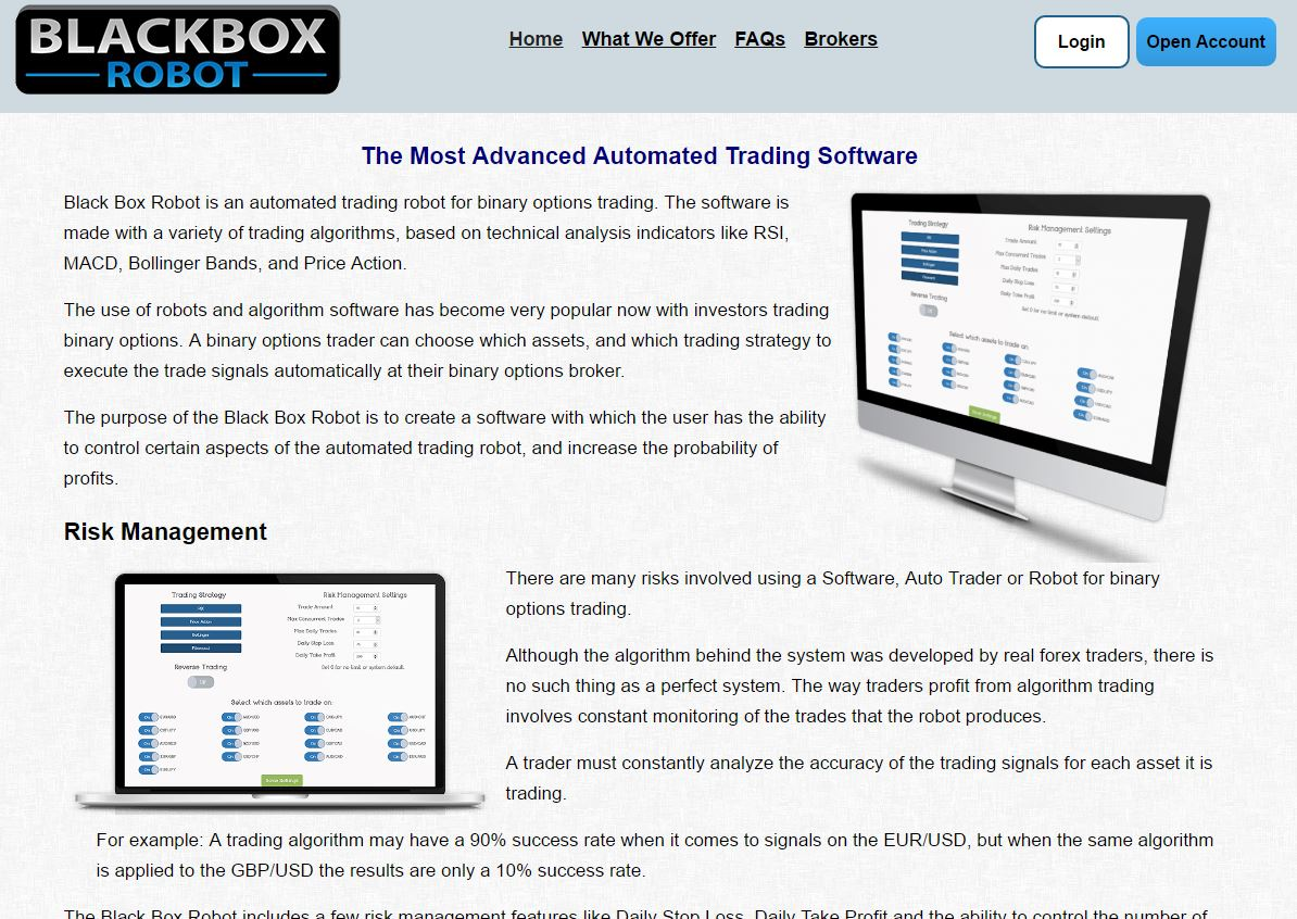 Best binary options brokers robot