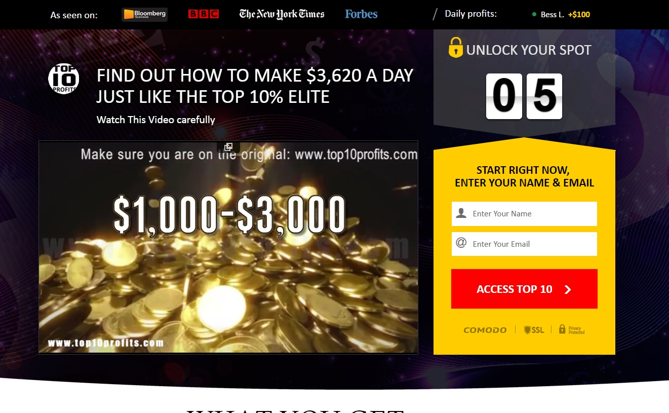 interstellar profits binary options program