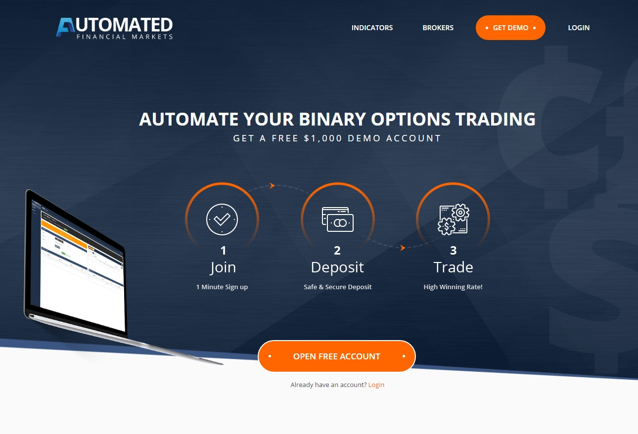 Free automated binary options trading