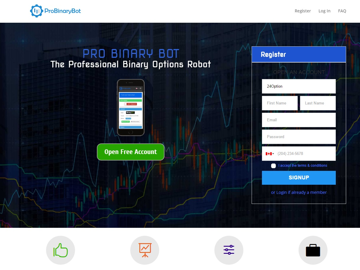 Binary options fake money
