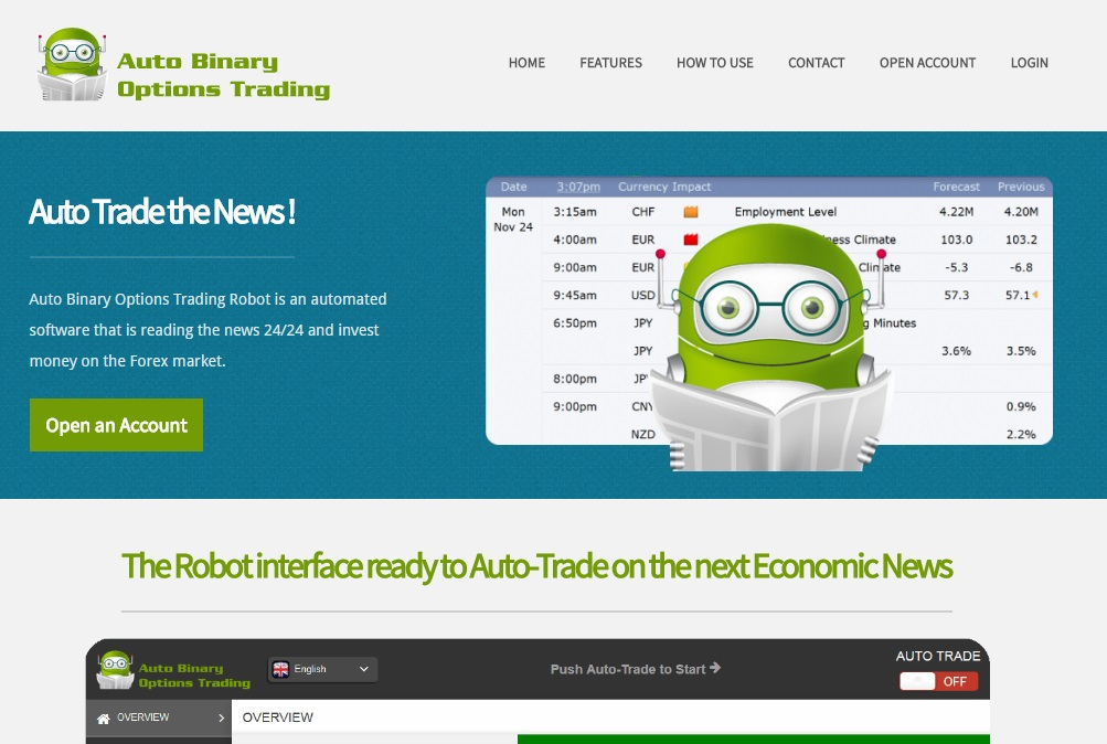 auto binary options easy trader robot