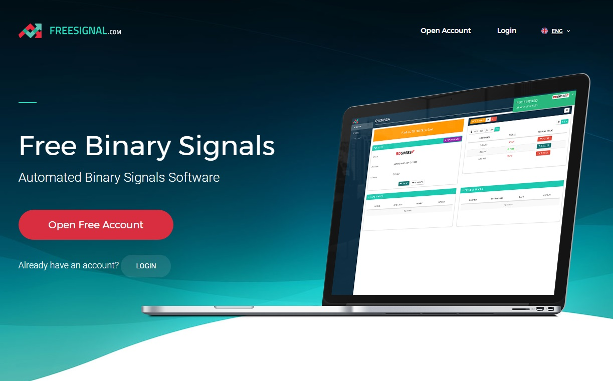 Binary option signals software