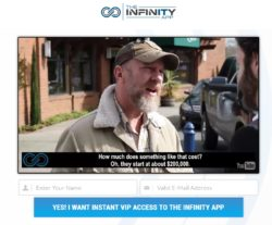 The Infinity App review