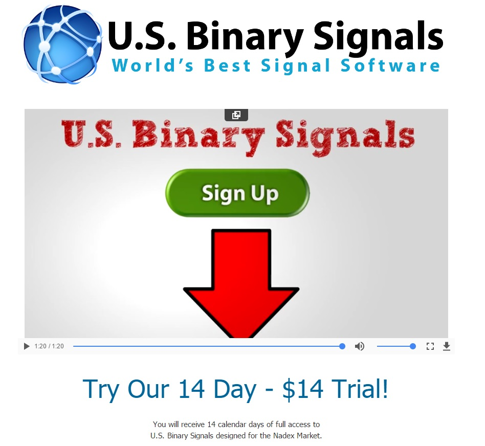 Binary options pro signals recommended brokers