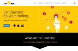 247CashBot website