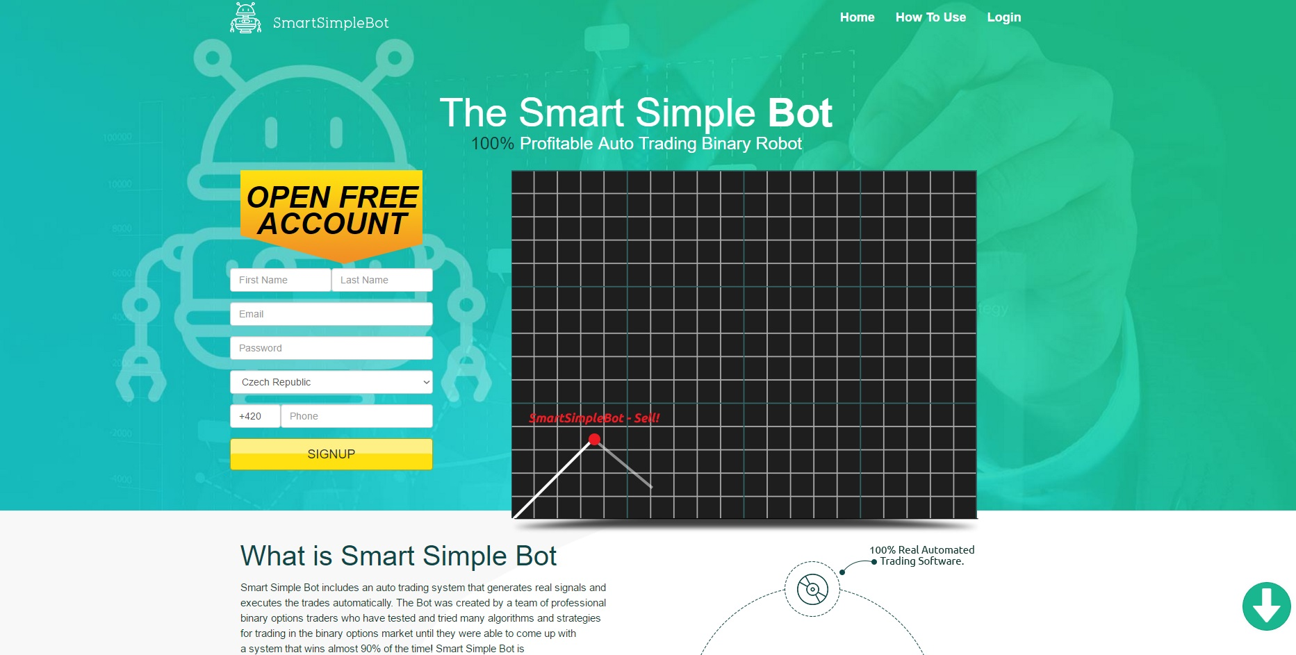 Binary options signal bot
