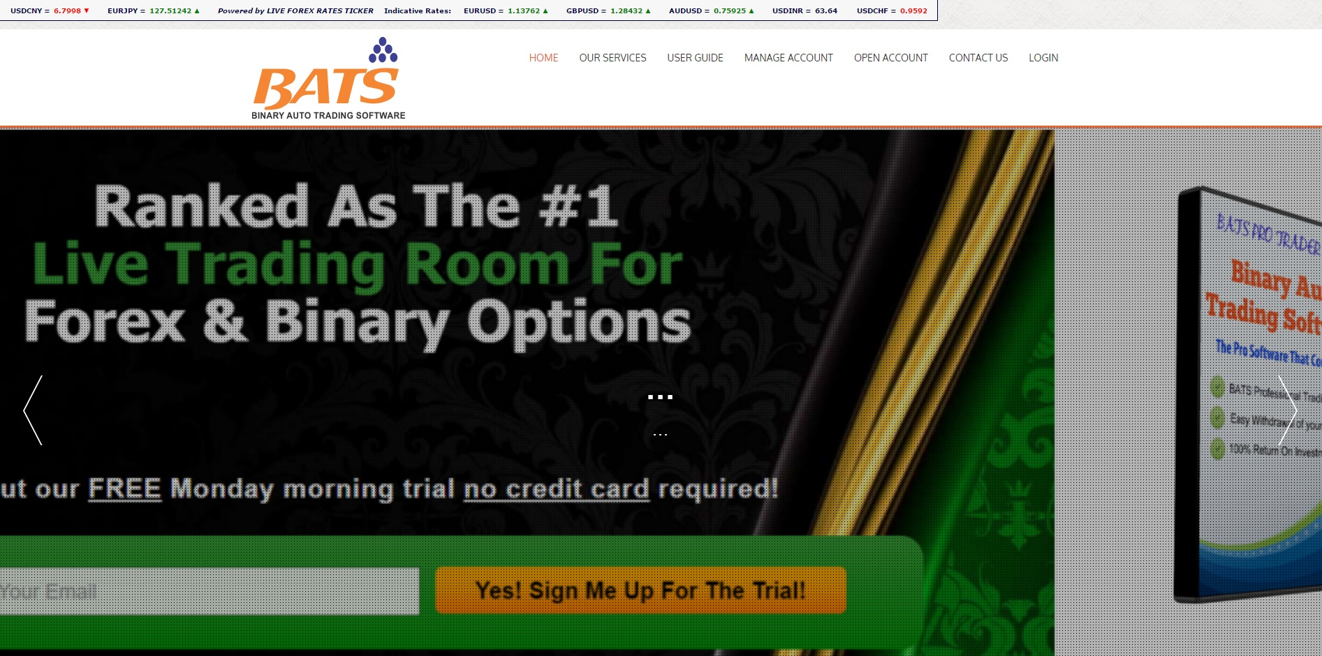 Auto binary options software