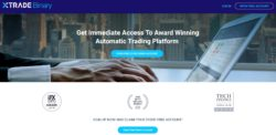 Xtrade Binary website