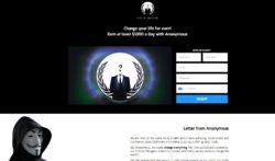 Anonymous are not here