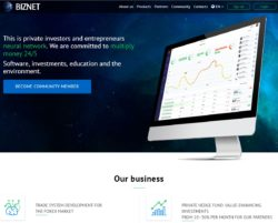Biznet website
