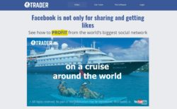Facebook Trader website