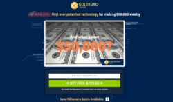 Gold Euro Trade website