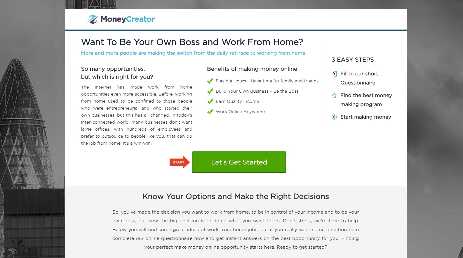 REBRANDED SCAM: Money Creator review
