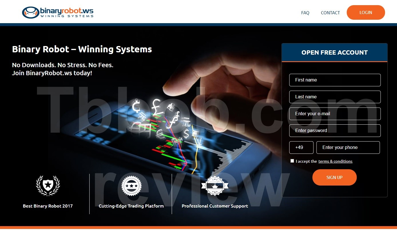Best binary option robots