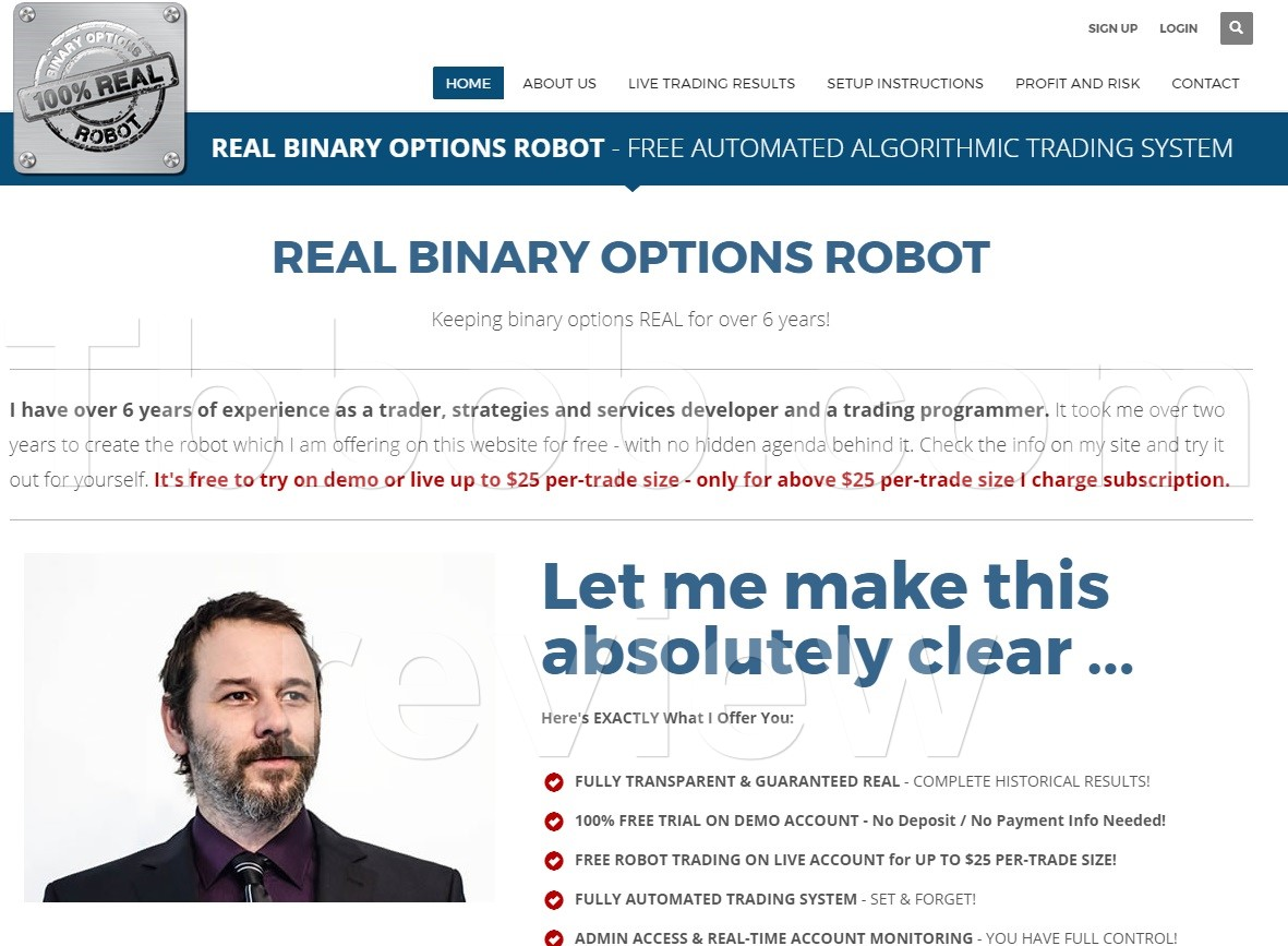 Best binary option robot in the world