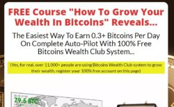 Bitcoins Wealth Club web