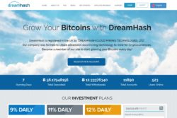 Dreamhash website
