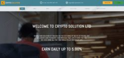 Crypto Solution official web